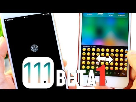 iOS 11.1 BETA 1 Released | New Features & Changes