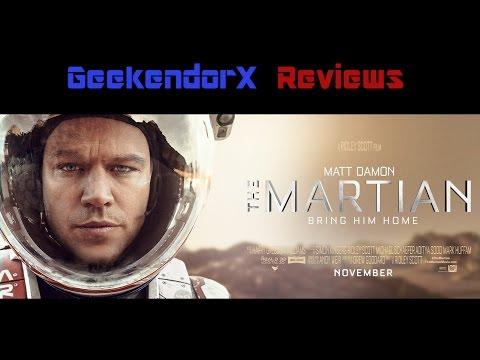 Gx Reviews: The Martian