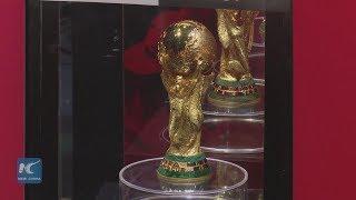 FIFA World Cup trophy tour lands in Jordan
