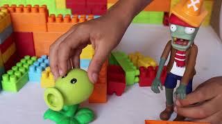 videos educativos para niños de 2 a 3 años - jugando con plantas vs zombies para niños