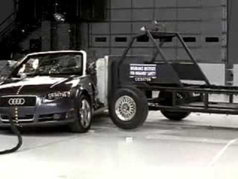 267. 2003-2009 Audi A4 Cabriolet crash test - Consumer Reports Video Hub
