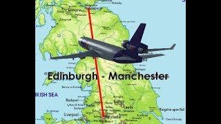 MD-11 Flight from Edinburgh to Manchester- Flightgear