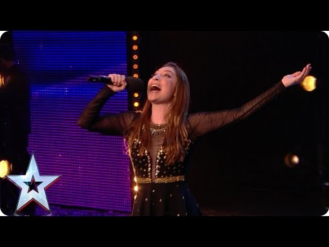 Preview: Impressionist Jess Robinson sings up a storm  | Britain's Got Talent 2017