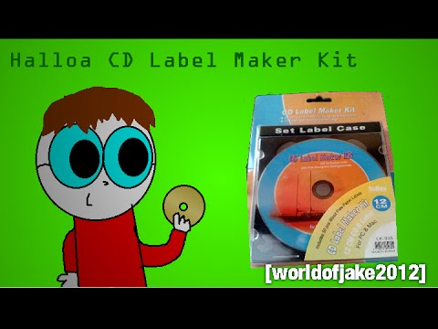 Halloa CD Label Maker Kit Review + Tutorial