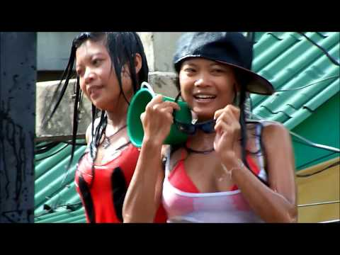 Wet And Sexy Girls, Pattaya Songkran video