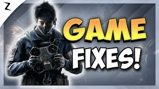 New Patch! Game Fixes! - Rainbow Six Siege