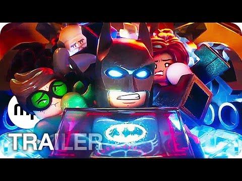 THE LEGO BATMAN MOVIE Trailer 4 German Deutsch (2017)