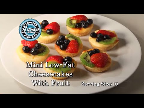How to make Low-Fat Mini Cheesecake in a NuWave Oven