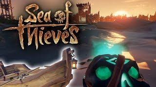 Defending The Skull Fort With Just A Rowboat - Sea of Thieves