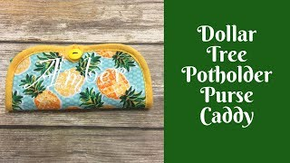 Easy Sewing Projects: Potholder Purse Caddy