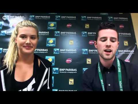 BNP Paribas Open Google+ Hangout with Genie Bouchard