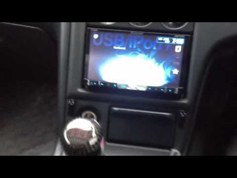 Pioneer avh-8450bt with ND-BC5 reverse camera set up