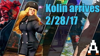 Kolin coming to Street Fighter 5 confirmed