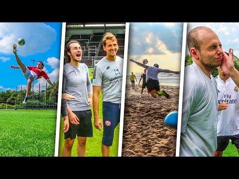 TOP 10 BESTE FUßBALL CHALLENGES ALLER ZEITEN!