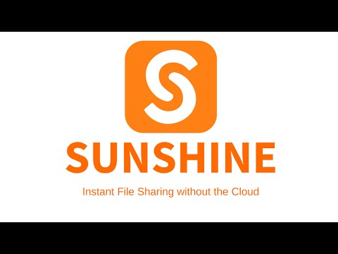 Sunshine - Stream My Videos and Movies Remotely APK Cover