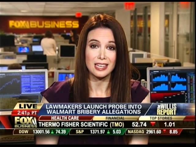 Carol Roth Walmart bribery scandal housing market Willis Report Fox