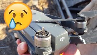 I Crashed my Drone... Twice! DJI Mavic Pro Crash