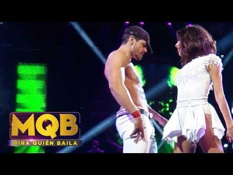 Ve todos los programas: http://videos.univision.com/shows/mira-quien-baila Pedro 'muy bueno' y la bella Alejandra mostraron una gran química en Mira Quién Baila y tuvieron que darle explicaciones...