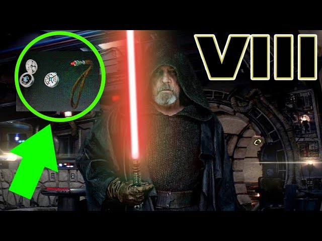 Lukes RED Kyber Crystal Revealed - Star Wars The Last Jedi Explained