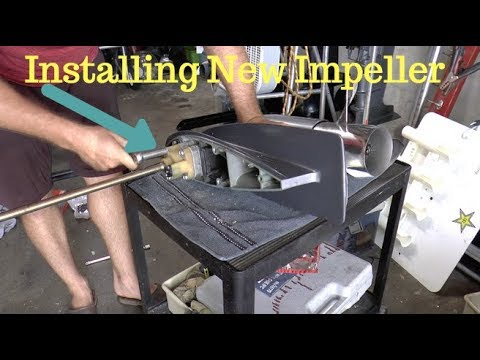 How To Replace A Water Pump Impeller Yamaha 90hp Outboard Motor