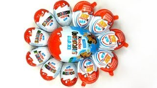 KINDER MAXI 6 Kinder Surprise 5 Kinder Joy Unboxing