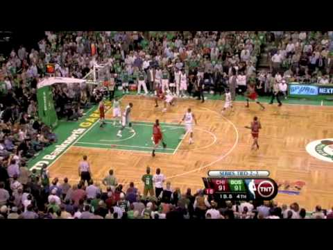 Celtics - Bulls Game 5 1st round I 2009 playoffs