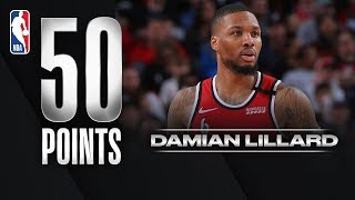 Damian Lillard Scores 50 PTS In Home Game