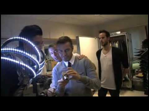 26.02.10 Tokio Hotel Backstage with Dean and Dan
