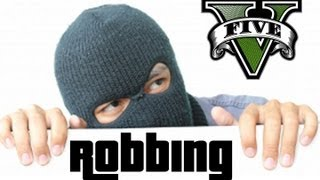 ★ GTA 5 - Robbing Houses?! | GTA5 Talk Ep. 10