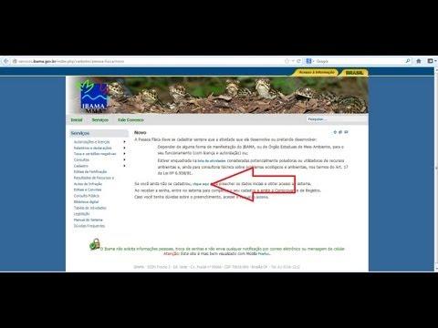 Cadastro Técnico Federal para caça de Javali IBAMA - Passo a passo