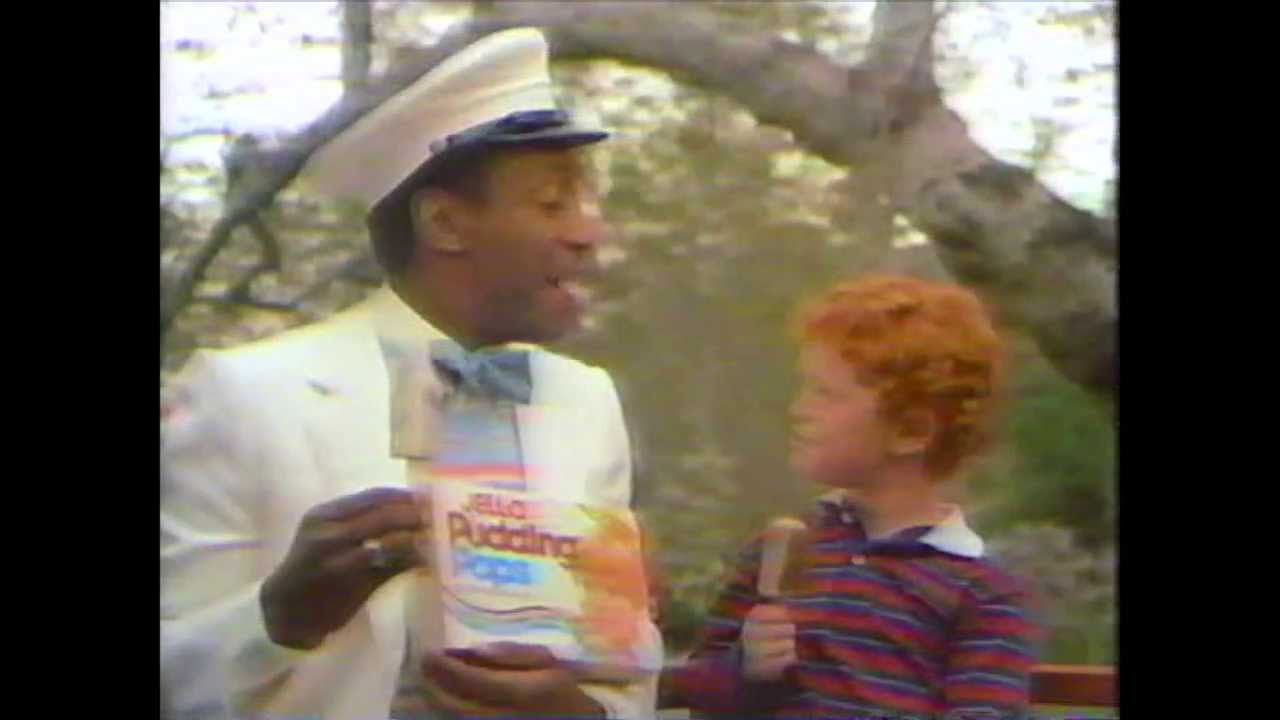 Bill Cosby - Jello Chocolate and Vanilla Swirl Pudding Pops Commercial ...