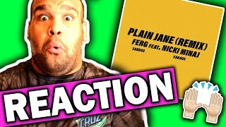 Download Lagu A$AP Ferg ft. Nicki Minaj - Plain Jane REMIX [REACTION] Gratis STAFABAND