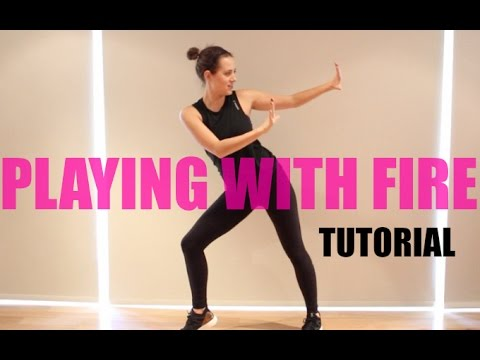 BlackPink 'PLAYING WITH FIRE'  불장난 Dance Tutorial | Andrea Wilson
