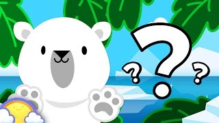 Zoo Animals Game #2 | Guessing Game for Kids! | CheeriToons