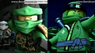 NINJAGO Season 8 Sons of Garmadon Old Lloyd Vs New Lloyd