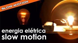 Energia elétrica em câmera lenta [série slow motion]