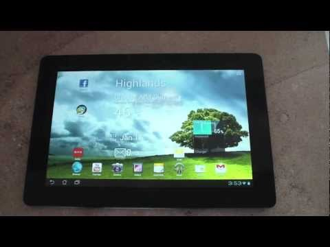 Asus Transformer Prime Review - Ice Cream Sandwich