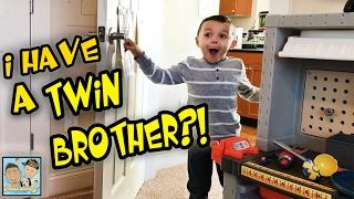 LOST TWIN BROTHER FOUND! BOY GETS HUGE SURPRISE! DINGLE HOPPERZ VLOG