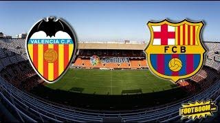 Barcelona vs Valencia Home  MNcomps