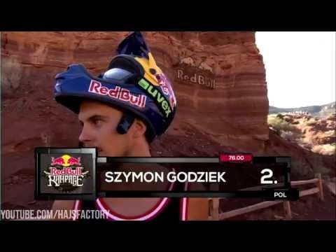 Szymon Godziek's first run at Red Bull Rampage