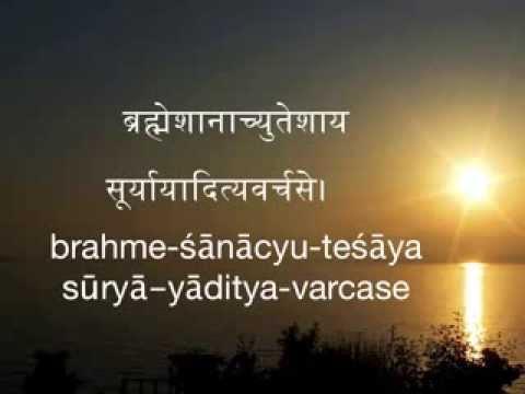 Aditya Hridayam  with lyrics - very easy to learn