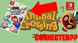 Super Mario Party's LINK to Animal Crossing SWITCH? - Super Mario Party Theory