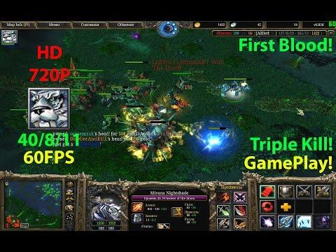 ★DoTa PoTm Mirana - GamePlay 6.83★KDA 40/8/11 Triple Kill!!!!★