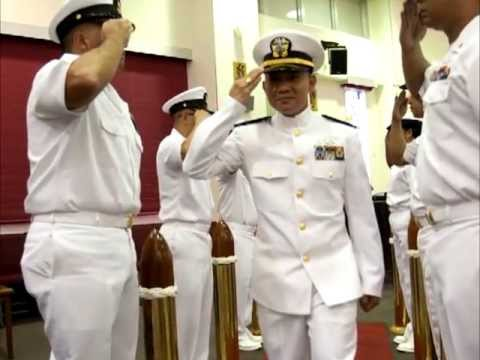 senior chief becomes chief warrant officer youtube