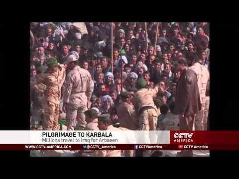 Millions travel to Iraq for world's largest pilgrimage known as Arbaeen
