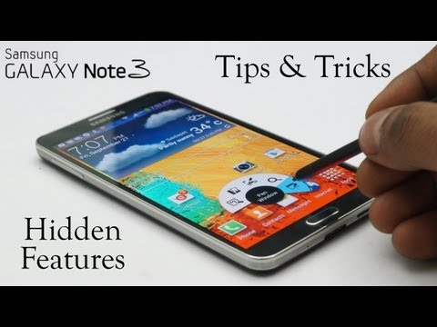 Galaxy Note 3 Software - Tips & Tricks. Hidden Features & Everything Else - Part 1/2