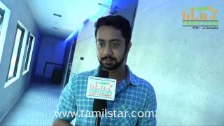 Abhishek Joseph At Demonte Colony Movie Team Interview