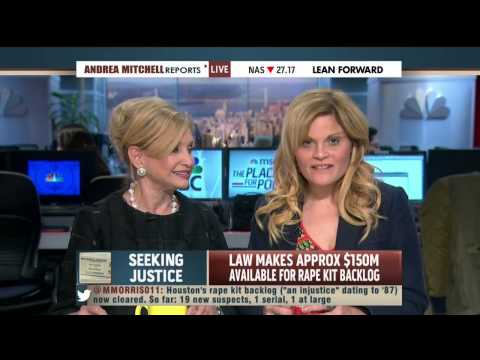 Congresswoman Carolyn Maloney and Natasha Alexenko discuss Debbie Smith Act