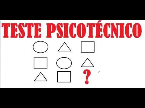 CURSO DE RACIOCÍNIO LÓGICO TESTE PSICOTÉCNICO DO DETRAN