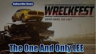 PS4- WRECKFEST FUN NEW GAMEPLAY